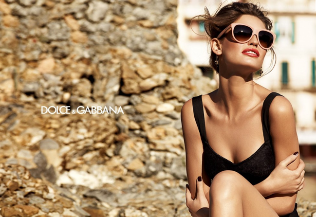 Моника Белуччи в фотосессии для Dolce&Gabbana