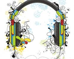 Cascos musica peligro