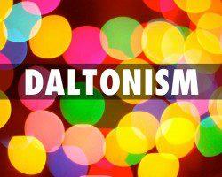 Daltonismo y alteracion vision colores